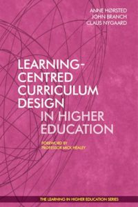 Anne Hørsted - Claus Nygaard - John Branch - Learning-Centred Curriculum Design  Libri Publishing Ltd